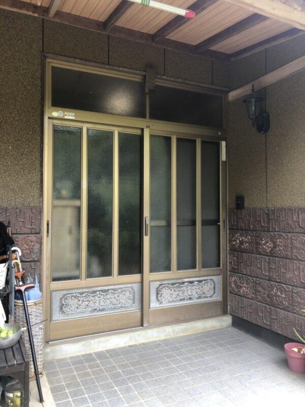 【 U様邸 / ドアリモ(玄関引戸) 】