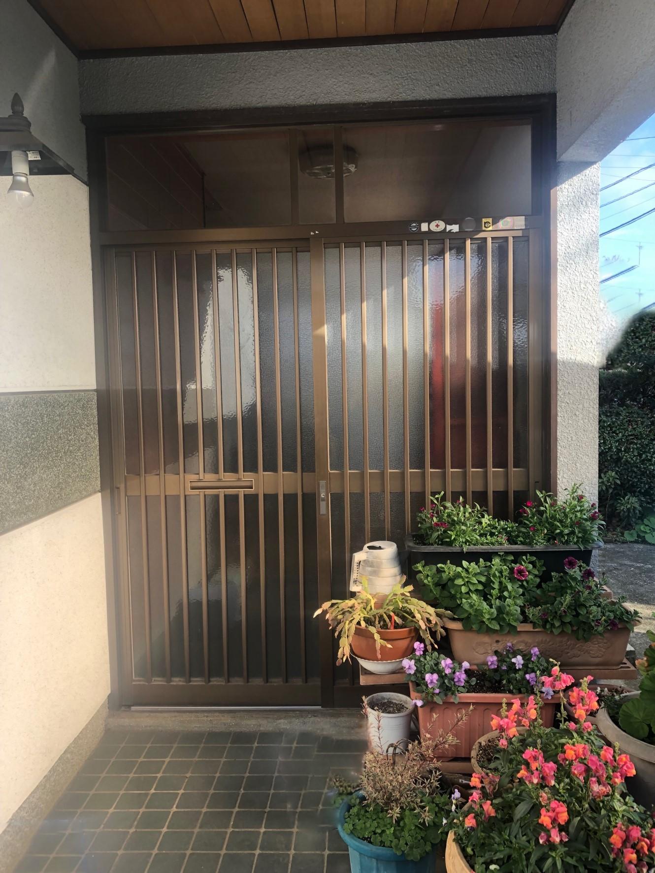 【A様邸/ドアリモ(玄関引戸)