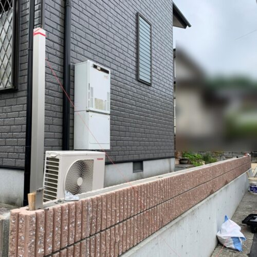 【S様邸/フェンスの取付】