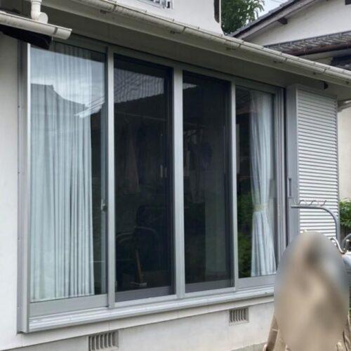 【K様邸/後付けシャッター・雨戸・面格子】